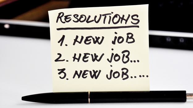 2019 Resolutions: New Year, New Job